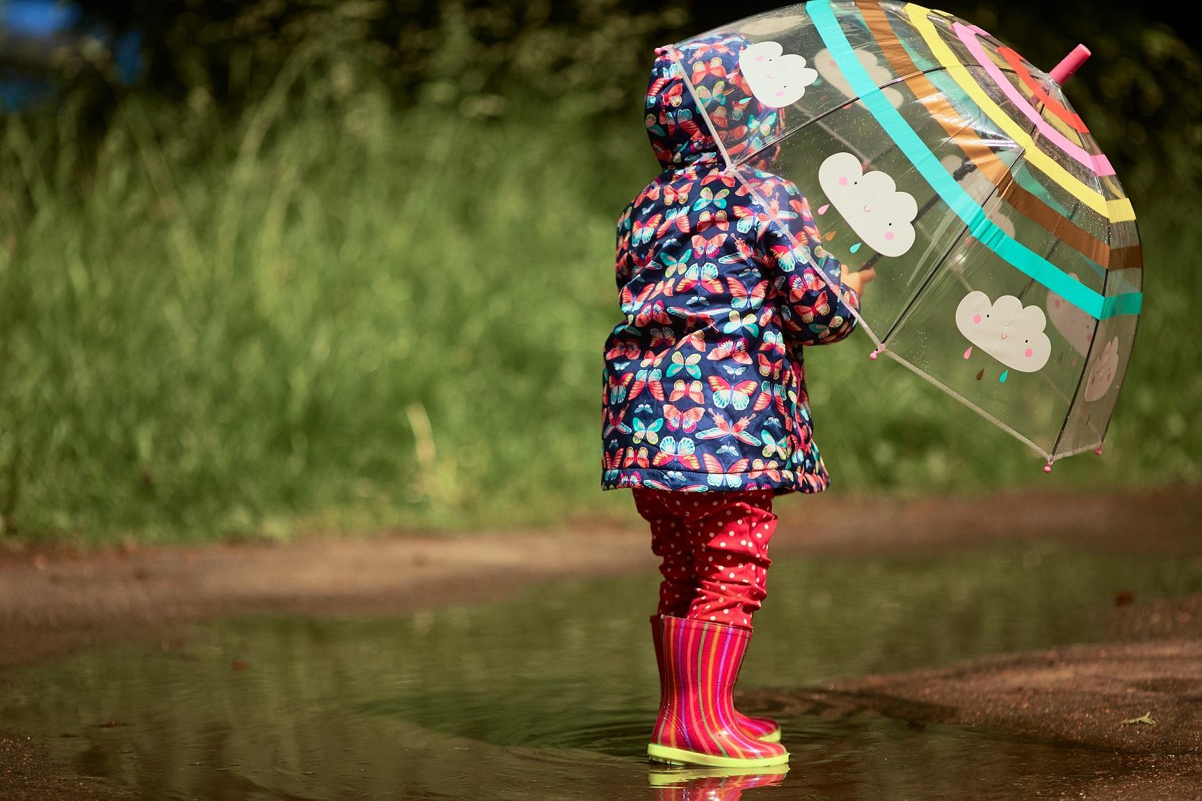 Jak ubrać dziecko na wiosnę